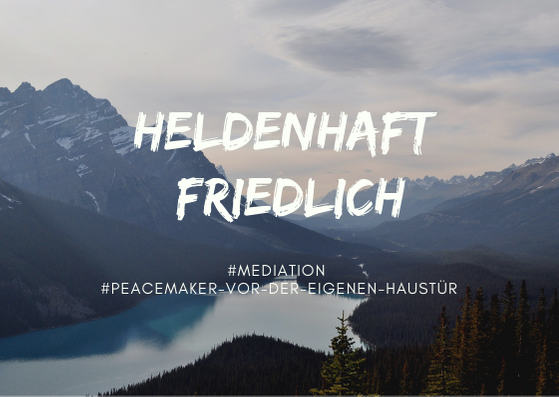 "Postkarte ""Heldenhaft friedlich"""