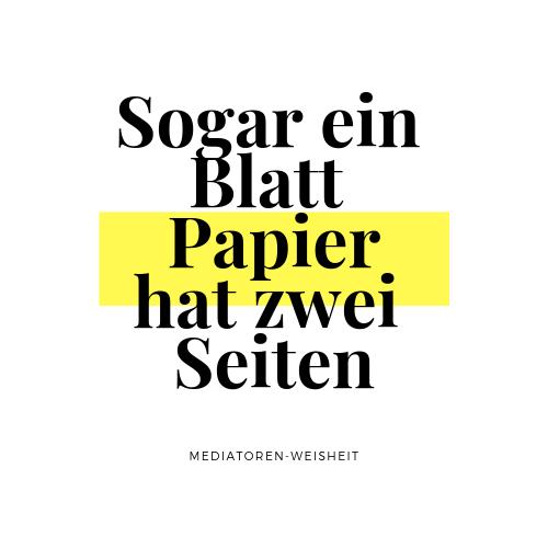 Aufkleber 10 x 10 cm Sogar ein Blatt Papier