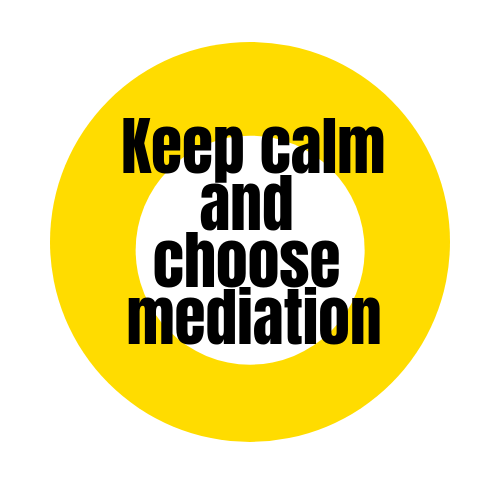 Aufkleber 10 x 10 cm: Keep calm...